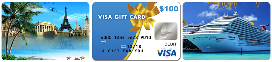 Grand Escapades offers $50 and $100 Visa Gift Cards When Purchasing select vacations!