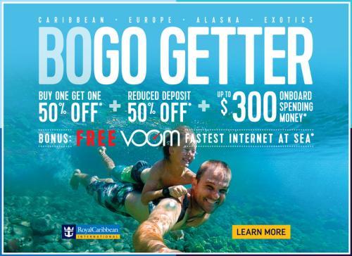 Royal Caribbean: BOGO 50% off & More! – Grand Escapades