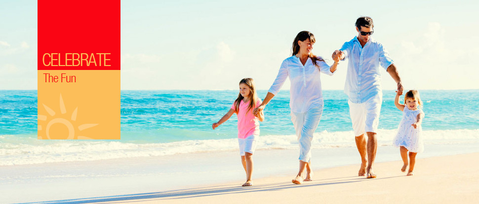 Celebrate the fun with Special Family rates at the Memories Varadero Beach Resort