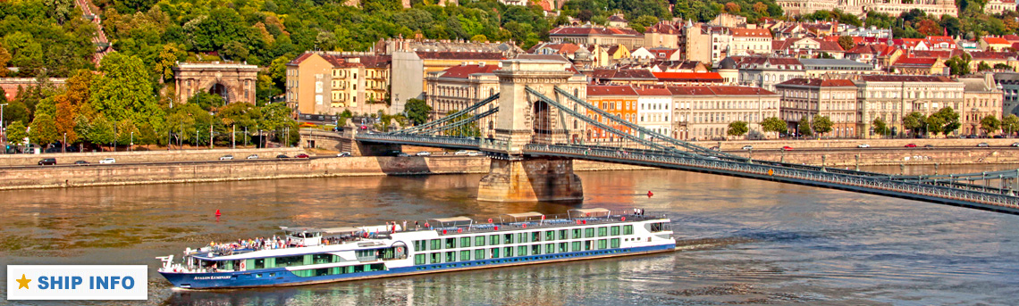 Ship Info - Avalon Waterways Luminary River Cruise