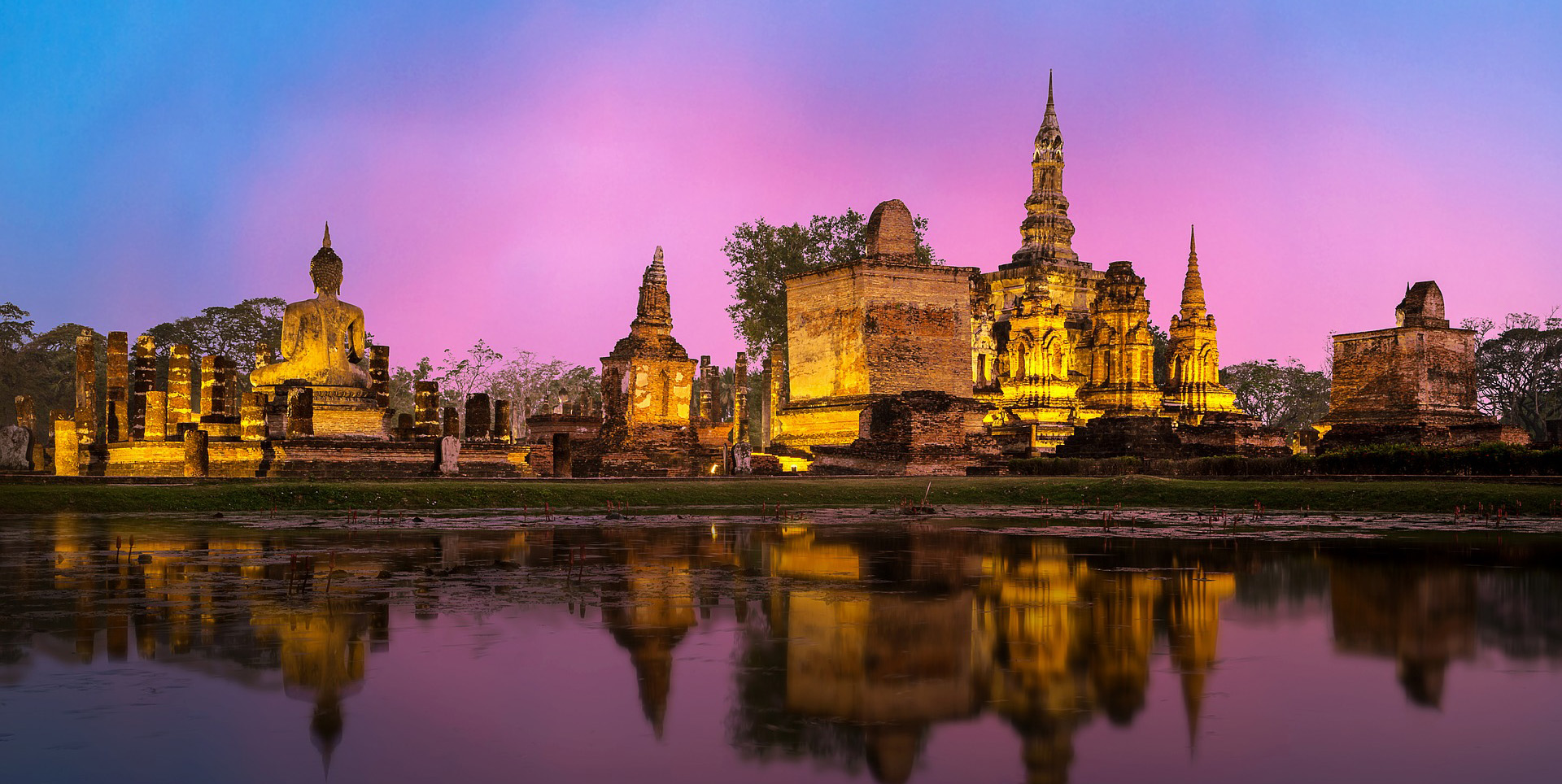 9 Day Central Thailand with River Kwai Tour