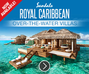 Spectacular Over-the-Water Villas Now available from Sandals!