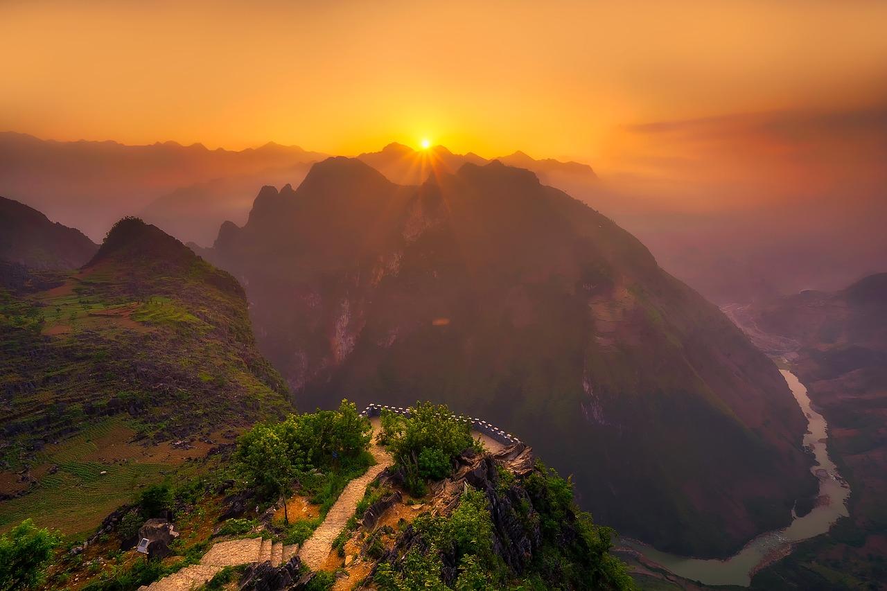 Vietnam Mountain Landscape
